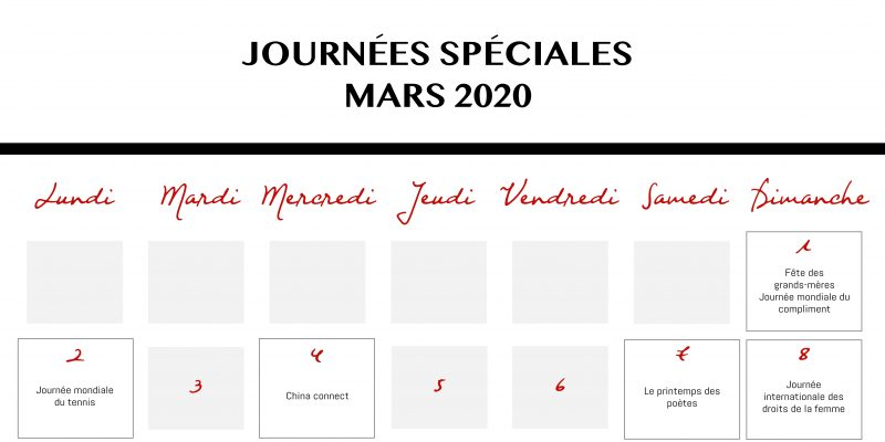 Calendrier Mars 2020 Blog Plan De Travail 1