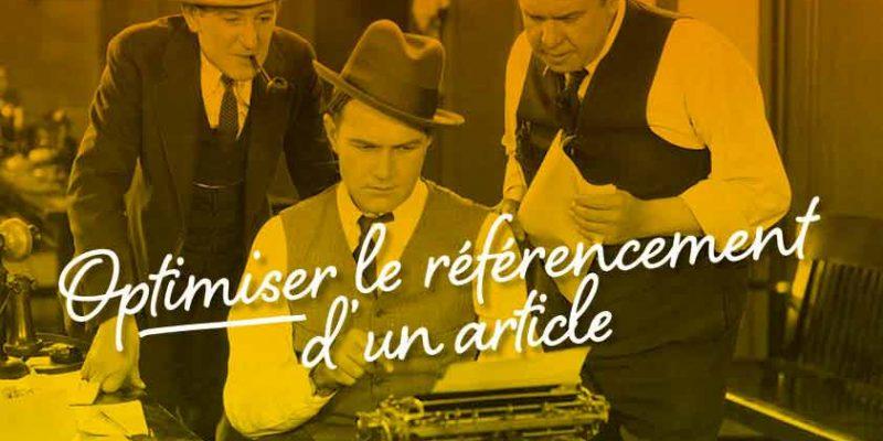 Optimiser Le Référencement D'un Article
